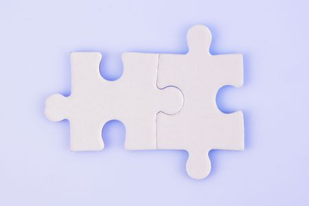 copulate: A jigsaw puzzle makes a good metaphor for any problem to solve