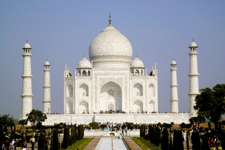 Tajmahal,Famous historical monument in India