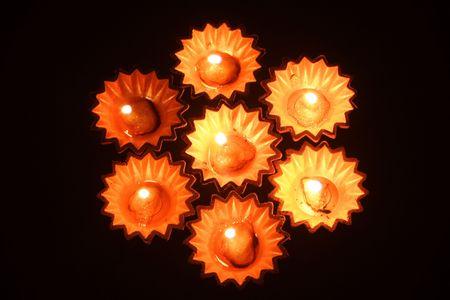 Beautiful oil-lamps