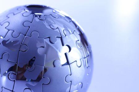 Globe puzzle