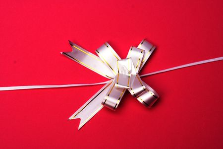 Bow on a gift pack
