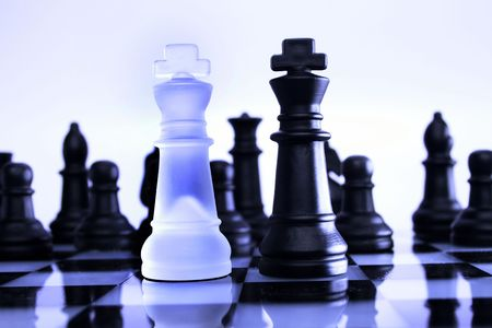 A game of chess comes to an end. The king is checkmated Stock Photo - 4740281