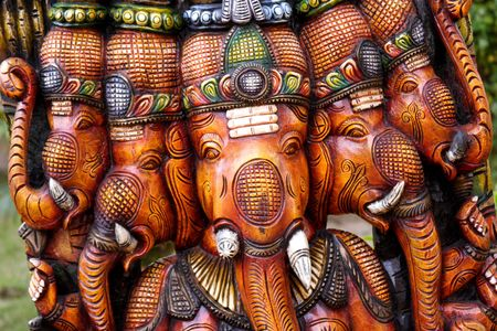 Ganesha-God of luck Фото со стока
