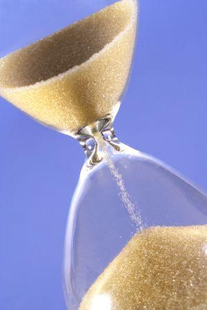 Hourglass clock Фото со стока - 88609927