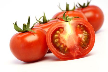 Organic fresh tomaotoes