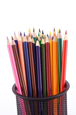 Bunch of color pencils Фото со стока - 88605959