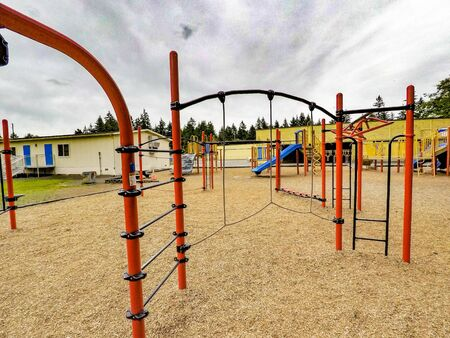 colorfull: Colorfull Playground Stock Photo