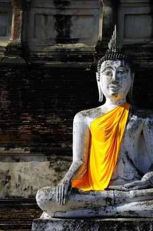 buddhist sculpture sitting Stock Photo - 10656890