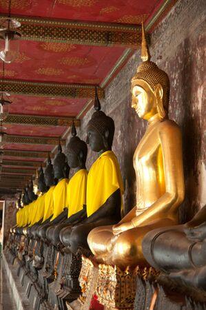 buddhist sculpture in thailand Stock Photo - 12368617