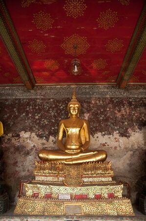 golden buddhist sculpture in thailand Stock Photo - 12368620