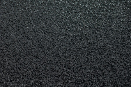 Black leather material photo