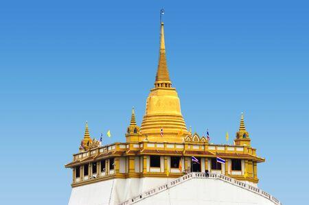 pu: Pu kao tong, thai temple style in bangkok, Thailand Stock Photo