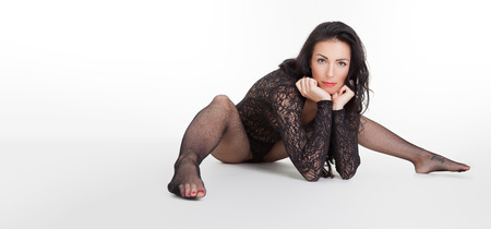 sexy stockings: Woman with tights