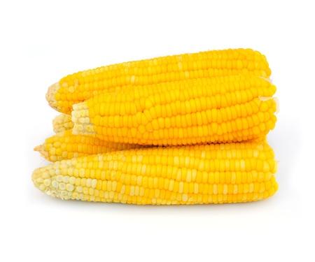 espiga de trigo: ma�z dulce cocido