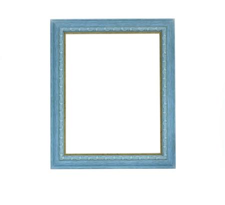 Green color picture frame  Reklamní fotografie