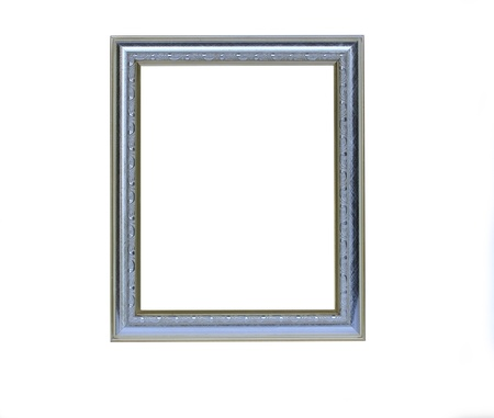 Silver picture frame  photo