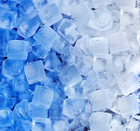 fresh cool ice cube background  photo