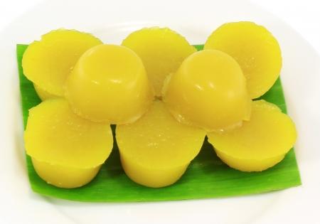 Traditional Yhai dessert wieh pumpkin photo