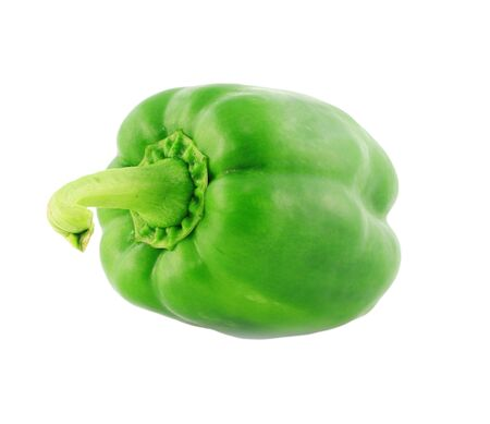 capsicum: Bell pepper isolated on white background