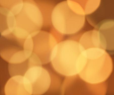 抽象的なオレンジ色ボケの背景 写真素材