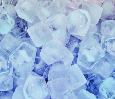 新鮮なクールなアイス キューブ バック グラウンド 写真素材