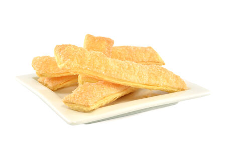 gorging: Cookies puff pastry Stock Photo