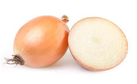 Onion isolate on white background