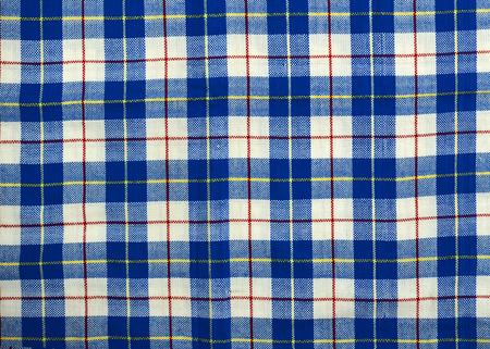 Fabric plaid texture  Cloth background  photo