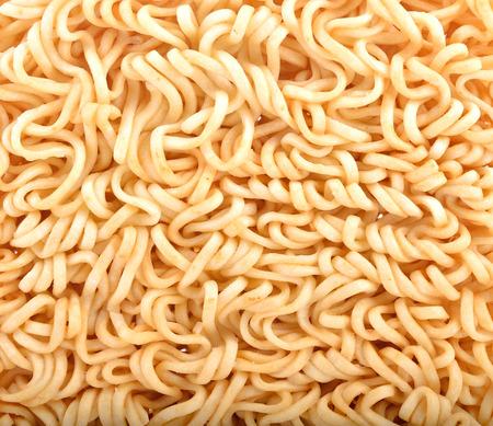 Closeup nstant noodles