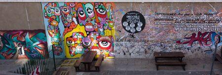 johannesburg: Street graffiti in Johannesburg, South Africa Editorial