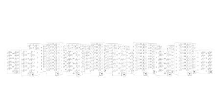 illustration of urban living area Stock Illustration - 9797276