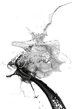 splash  写真素材