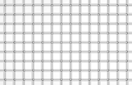 repeating diamond pattern in white photo