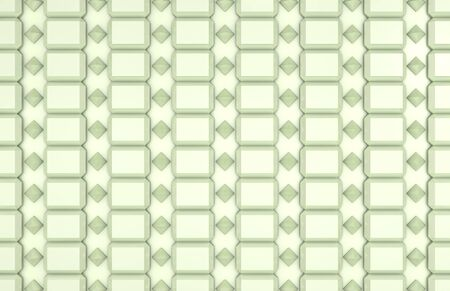 repeating diamond pattern in green Stock Photo - 13911331