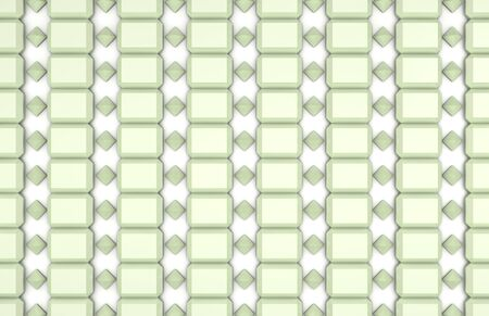 repeating diamond pattern on white background photo