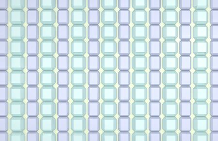 repeating diamond pattern in green and blue photo