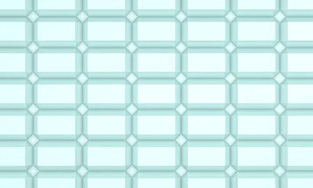 illustration of seamless diamond pattern in turquoise illustration