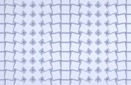 illustration of seamless diamond pattern in blue illustration
