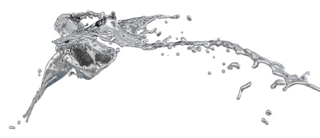 silver splashes photo