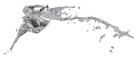 liquid metal: spruzzi d'argento