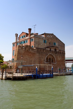 Canale in Venice in summer with blue sky Stock Photo - 4298454