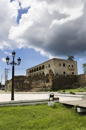 Hous of Columbus Santo Domingo Dominican republic in summer photo