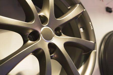aluminum wheels: Auto ruedas de disco de acero sin un neum�tico