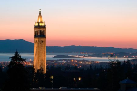 Berkeley University Sather Tower, California Stock Photo