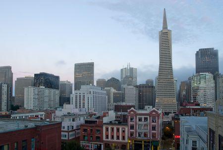 San Francisco, Skyline, Financial District
