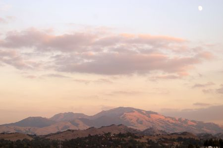 Mount Diablo, Northen California Stock Photo