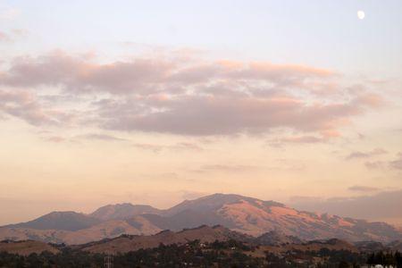 Mount Diablo, Northen California 版權商用圖片