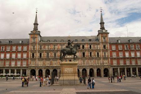 Plaza Mayor, madrid, Spain Stock Photo - 934007