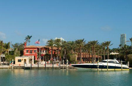 Duurdere huizen uit Miami in mijn portefeuille Stockfoto - 934093