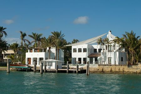 luxuries: More expensive houses from Miami in my portfolio Stock Photo